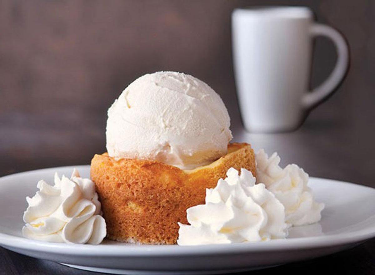Buttercake restaurant dessert