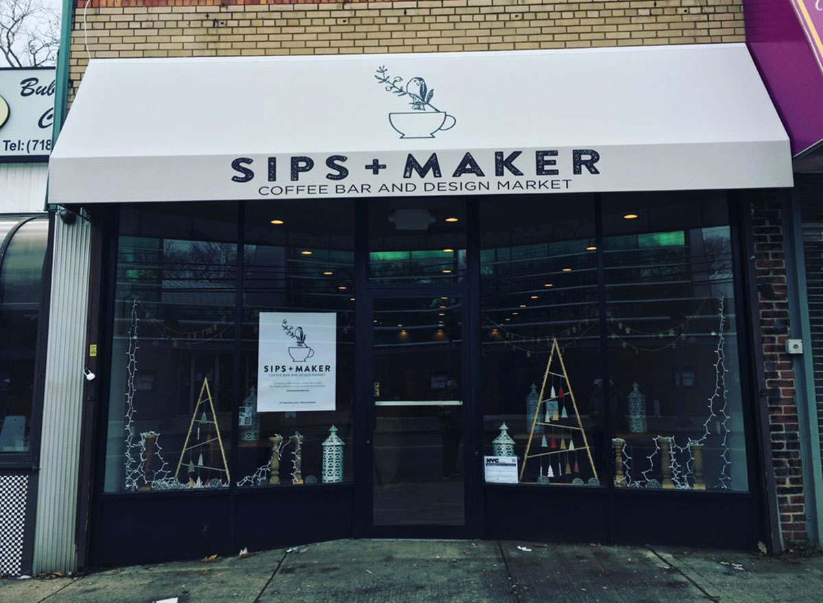 sips and maker on staten island