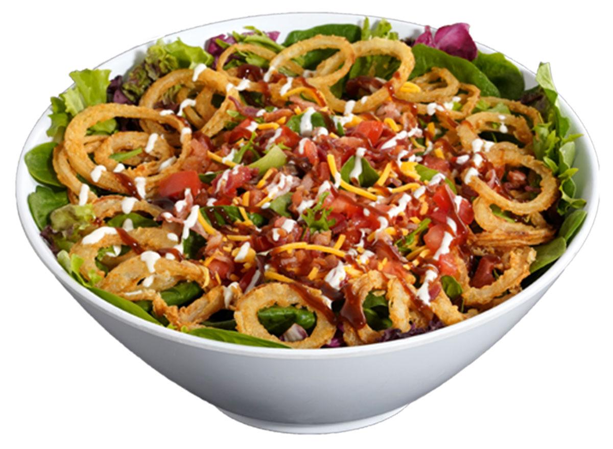 smashburger bbq ranch salad
