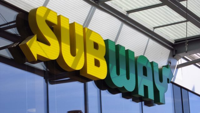 subway sandwich storefront logo