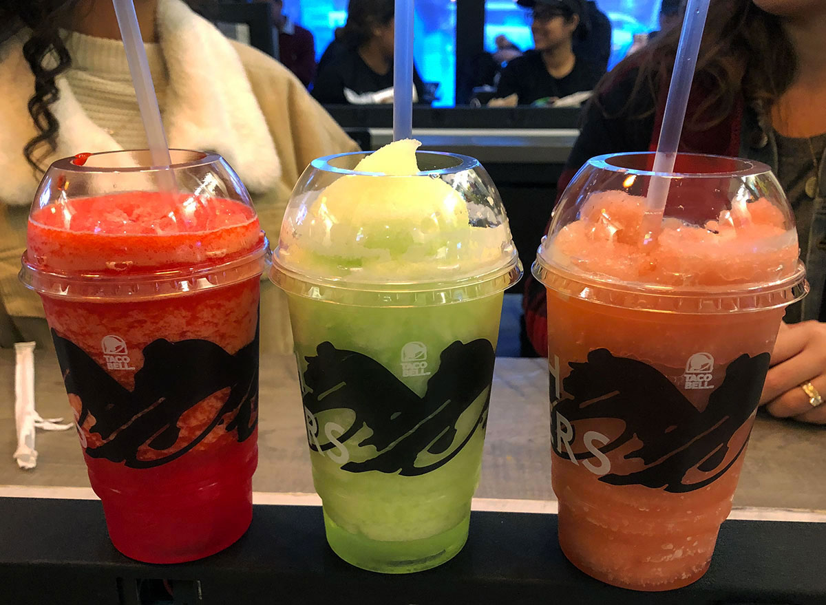 taco bell cantina party punch margarita berry frose alcoholic drinks