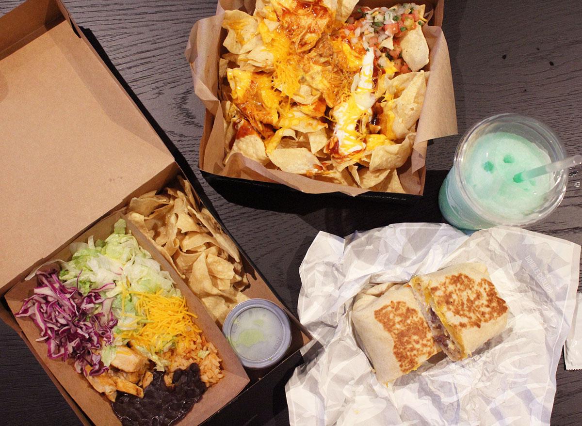 taco bell cantina specials