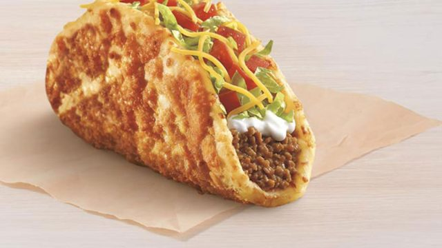 taco bell toasted cheddar chalupa