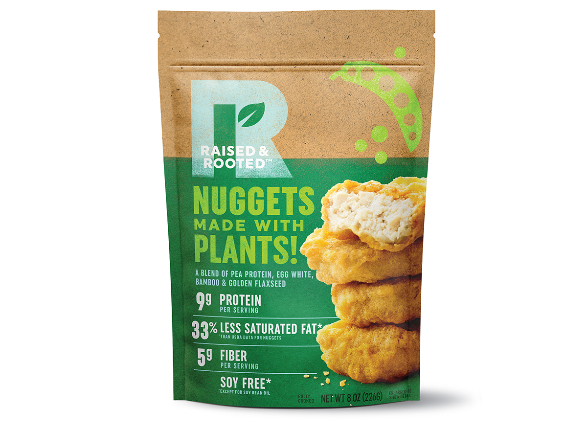Tyson Raised and Rooted Nuggets Made With Plants