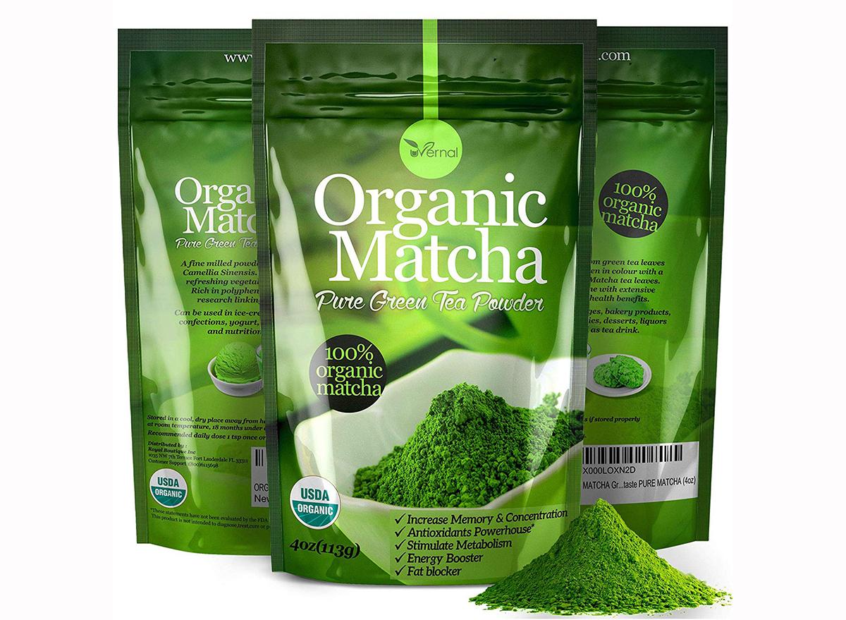 uvernal organic matcha green tea powder