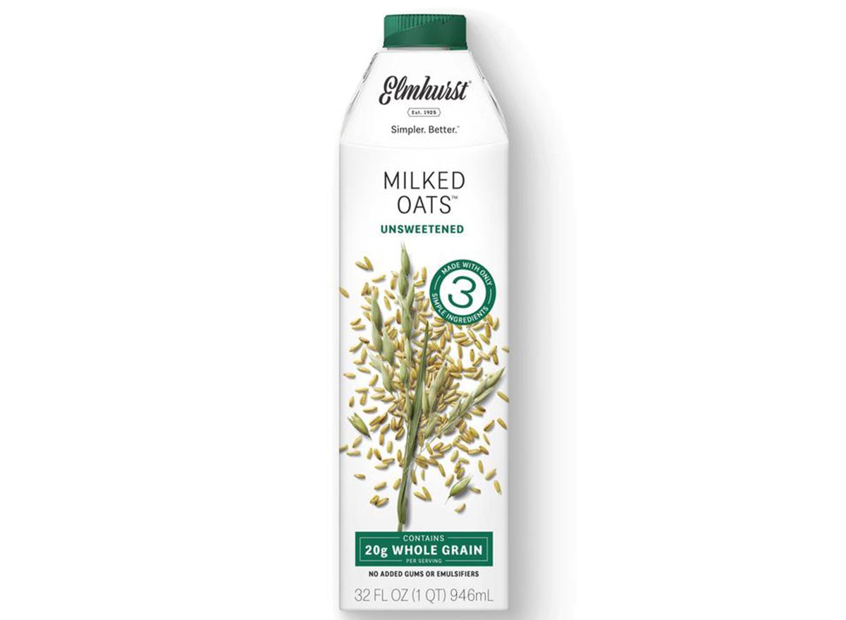 unsweetened milk oats