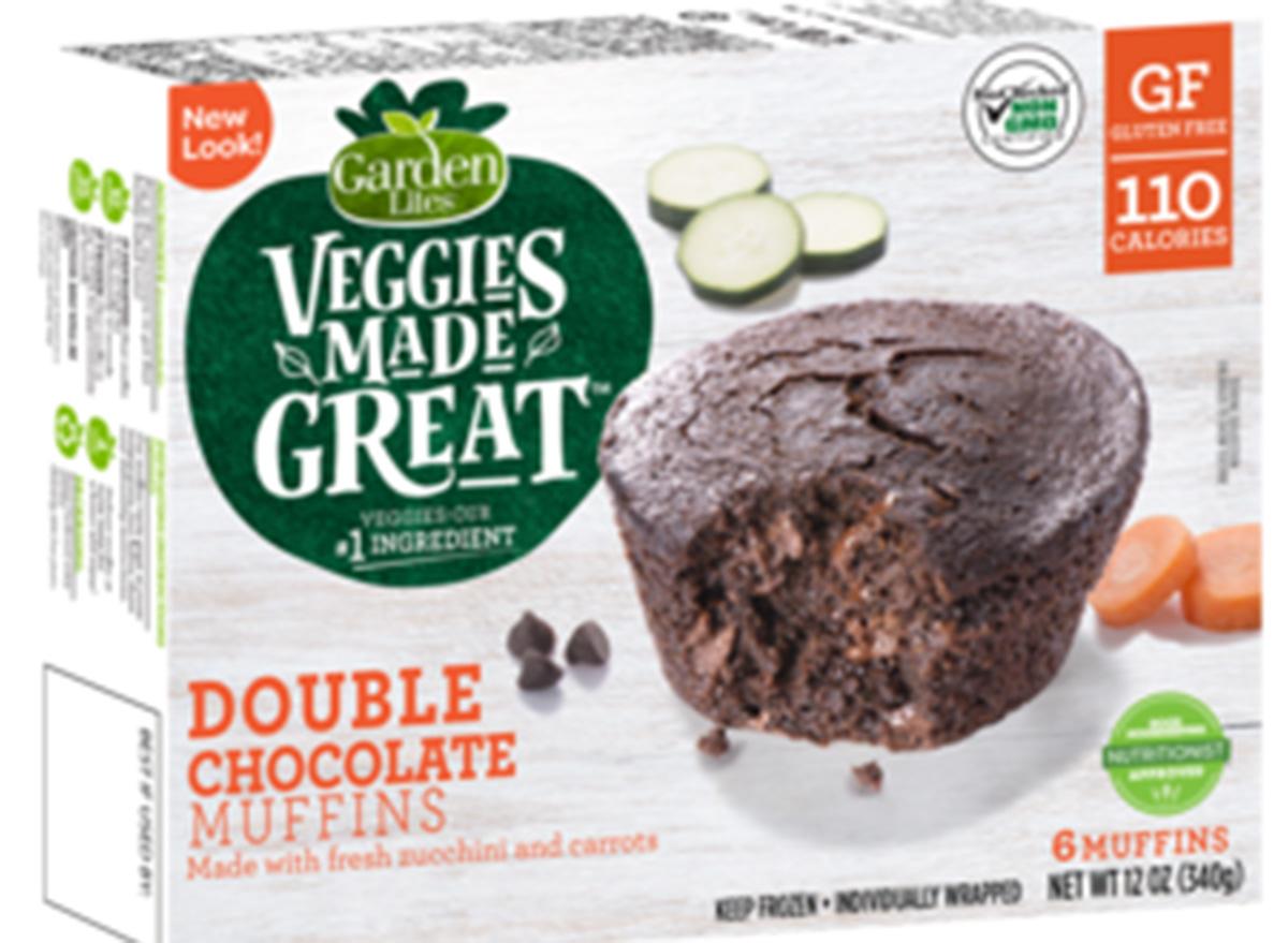 veggies made great chocolate muffins