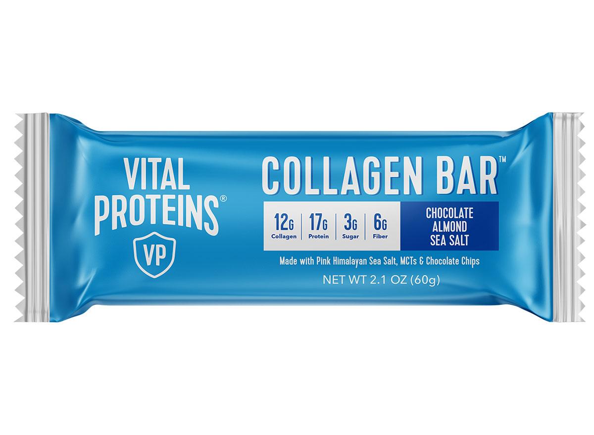 vital proteins collagen bar chocolate almond sea salt