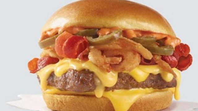 wendys double bacon jalapeno cheeseburger