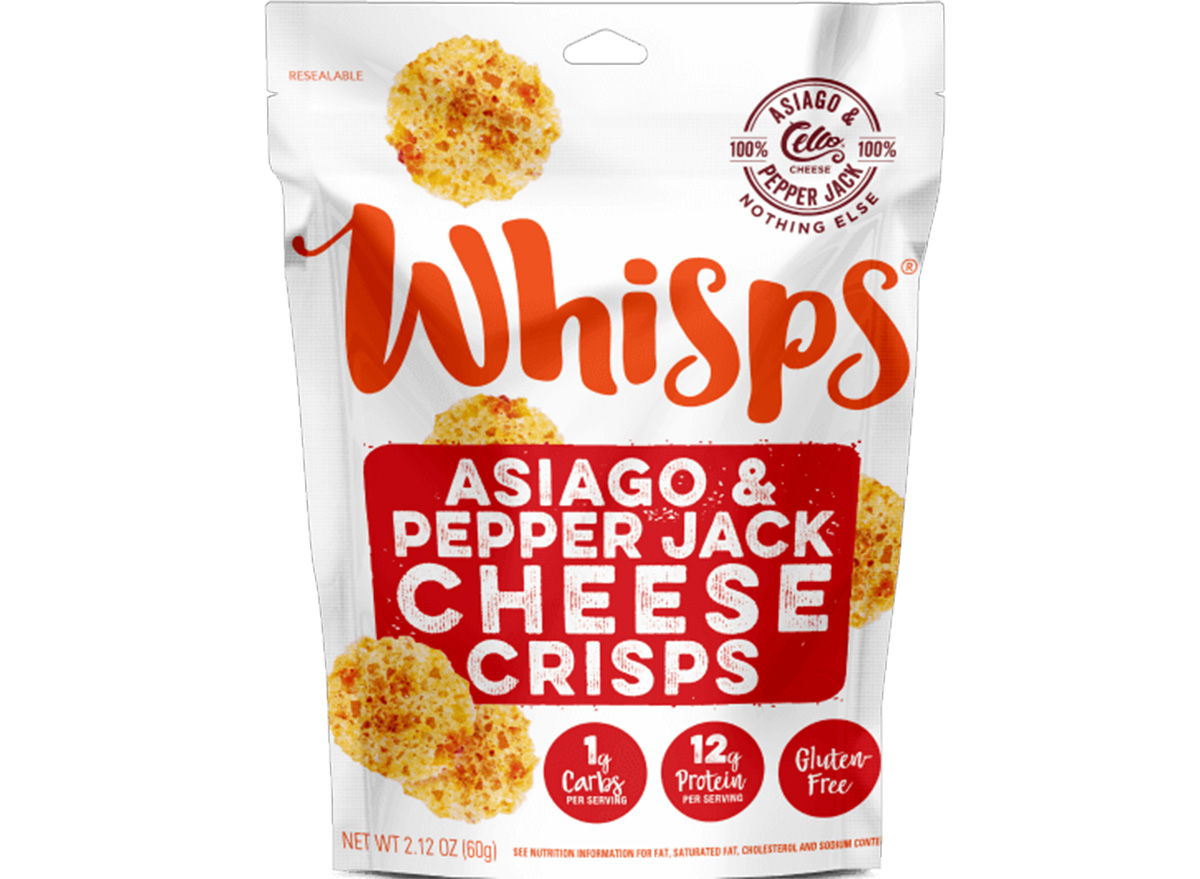 whisps asiago pepper jack cheese crisps