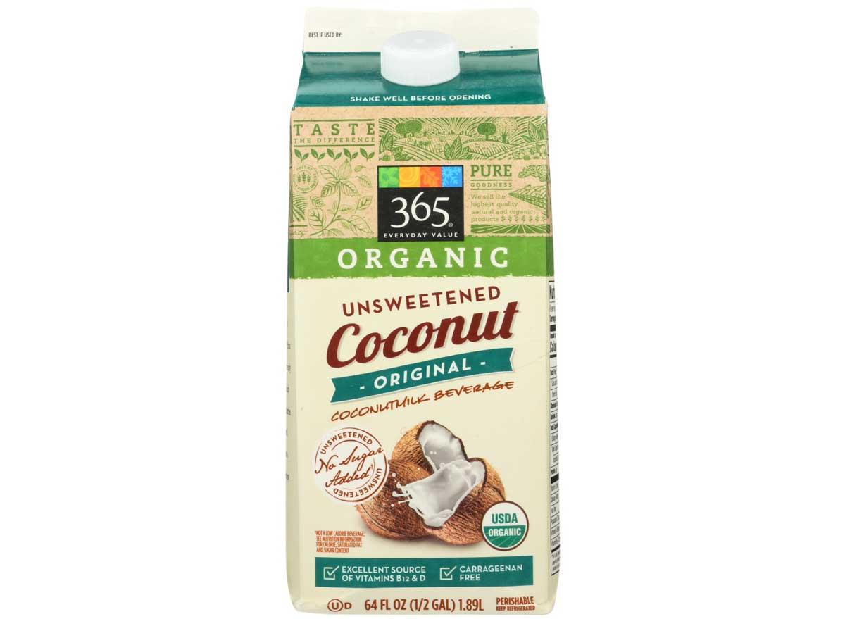 365 Everyday Organic Unsweetened Coconut Milk, Original