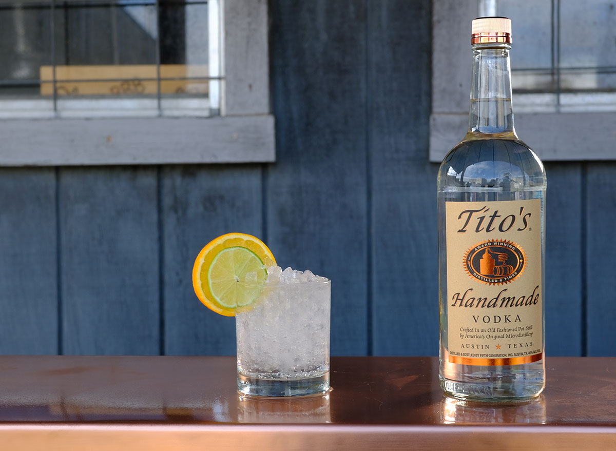 titos vodka all time favorite cocktail