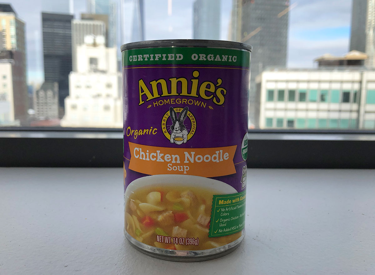 annies chicken noodle soup