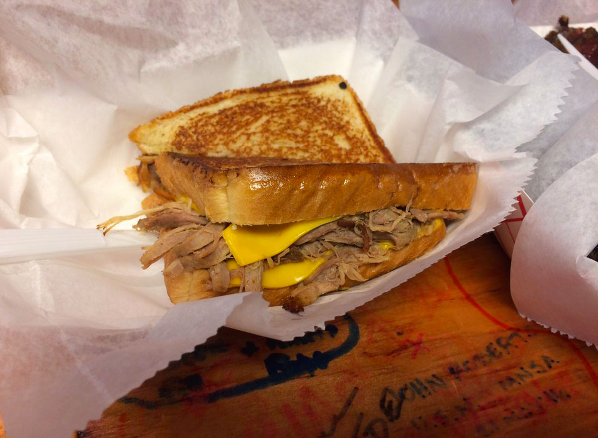 barrel house bbq tennesee grilled cheese