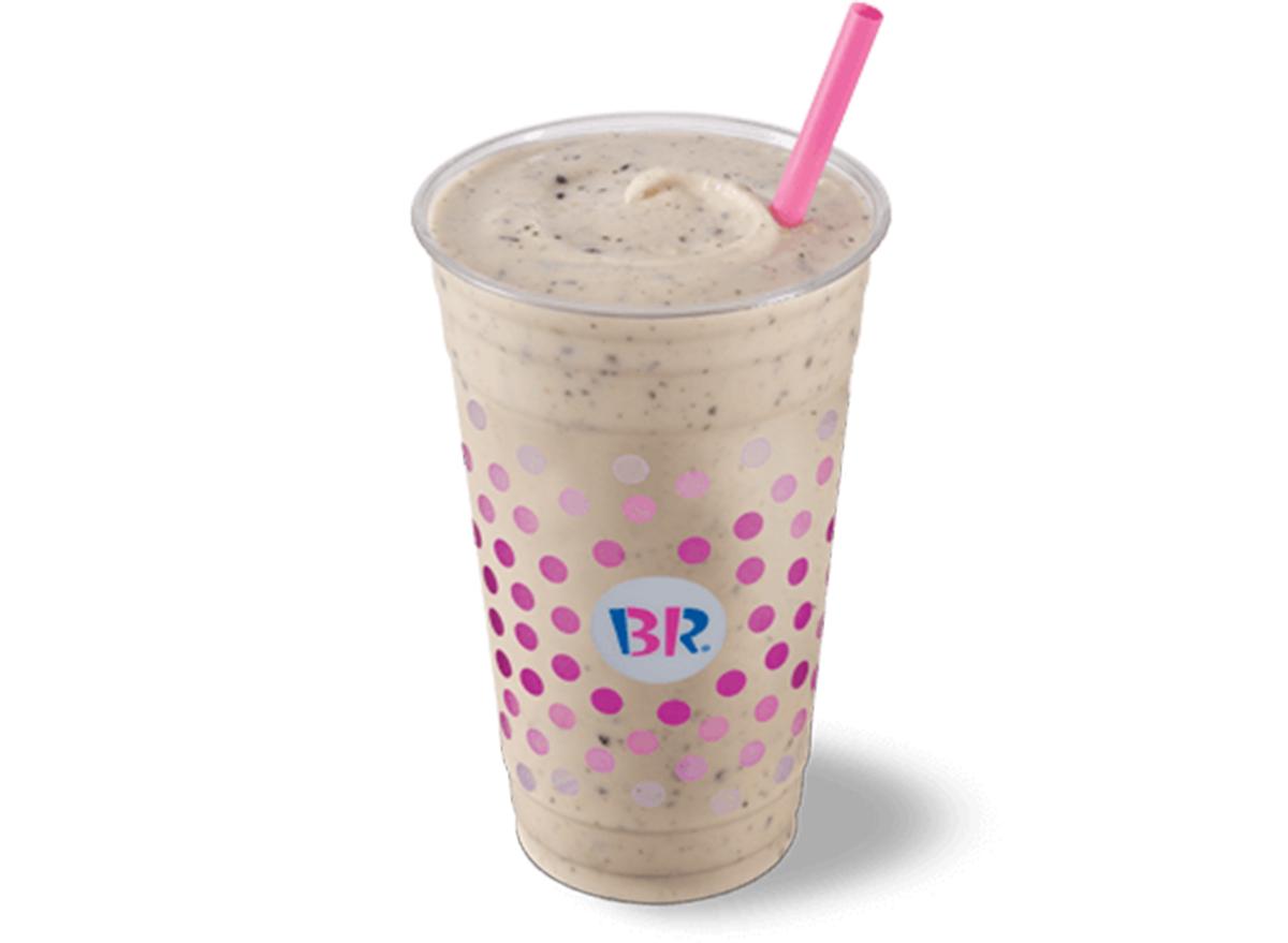 baskin robbins cookie dough milkshake