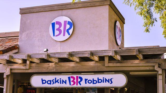 baskin robbins outside