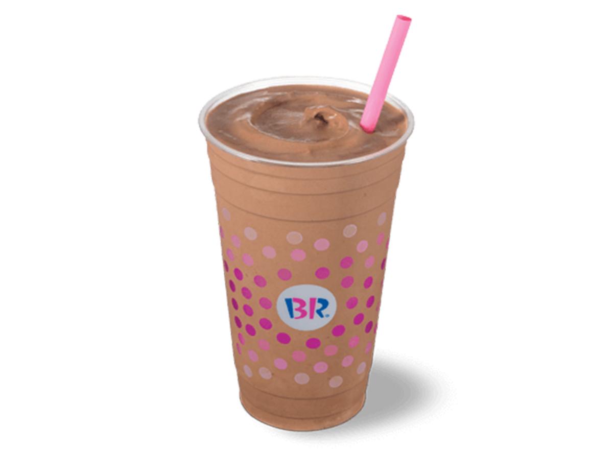 baskin robbins peanut butter chocolate milkshake