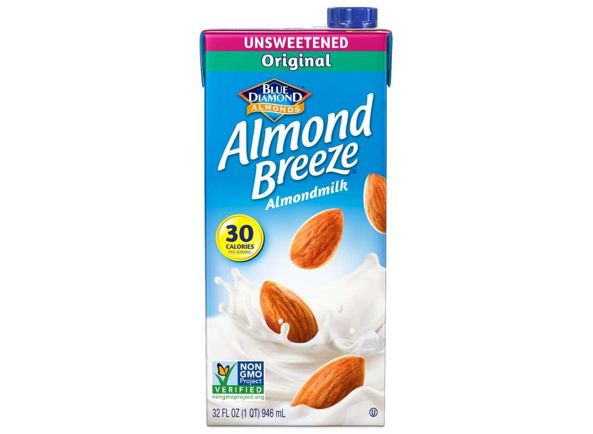 Blue Diamond Almond Breeze Unsweetened Almond Milk