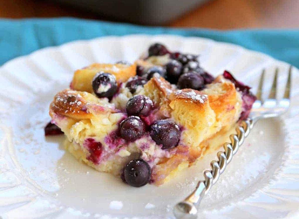 blueberry croissant puffs