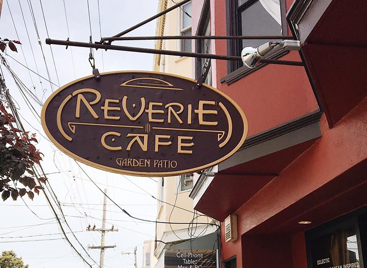 cafe reverie sign in san francisco