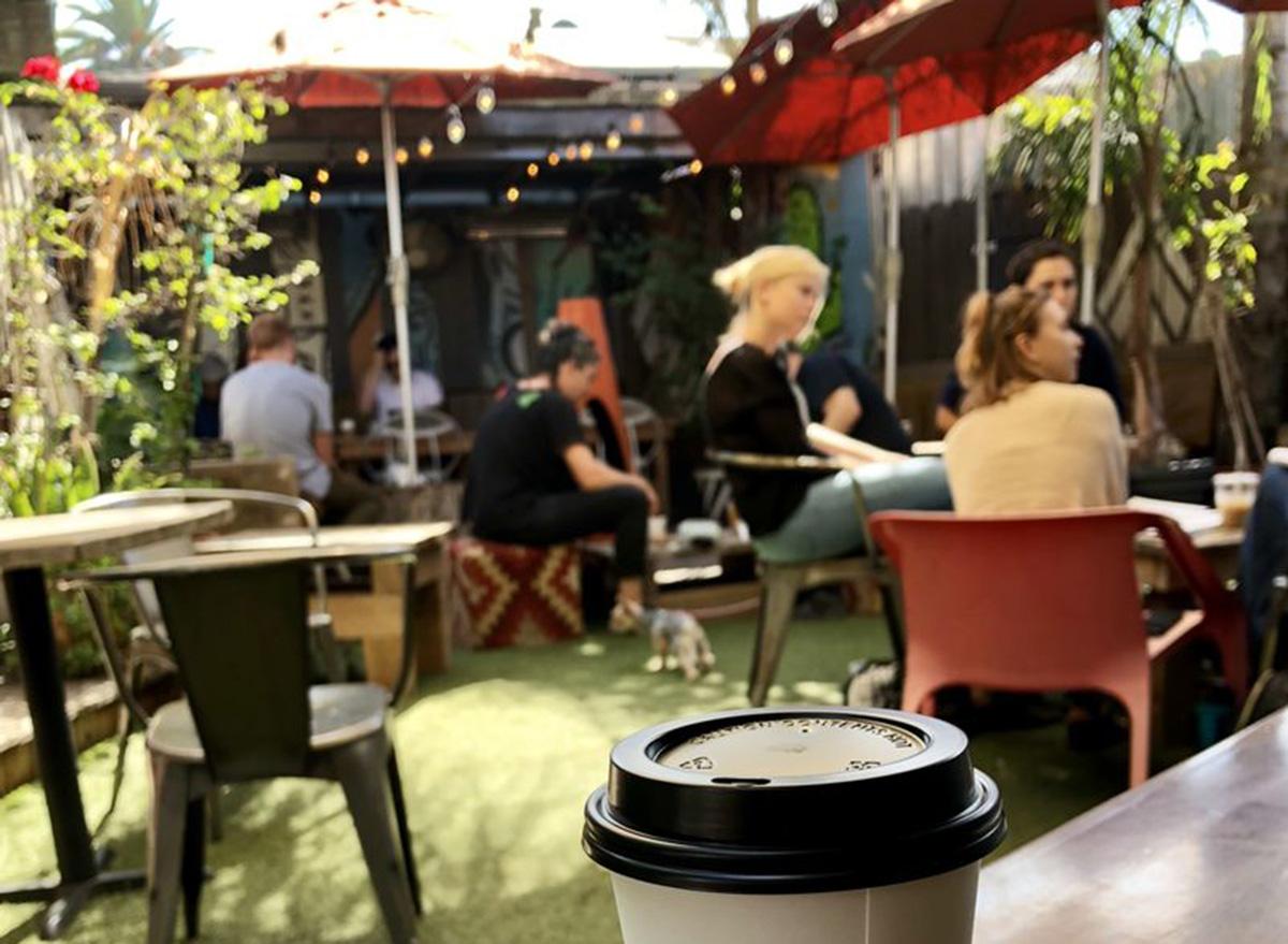 outside cafecito organico in los angeles