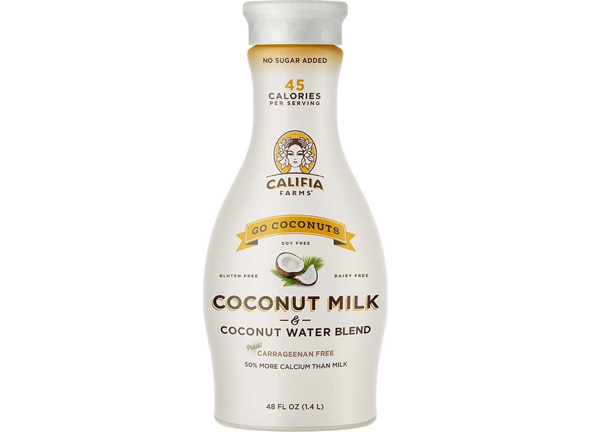 Califia farms go coconuts coconut milk and coconut water blend