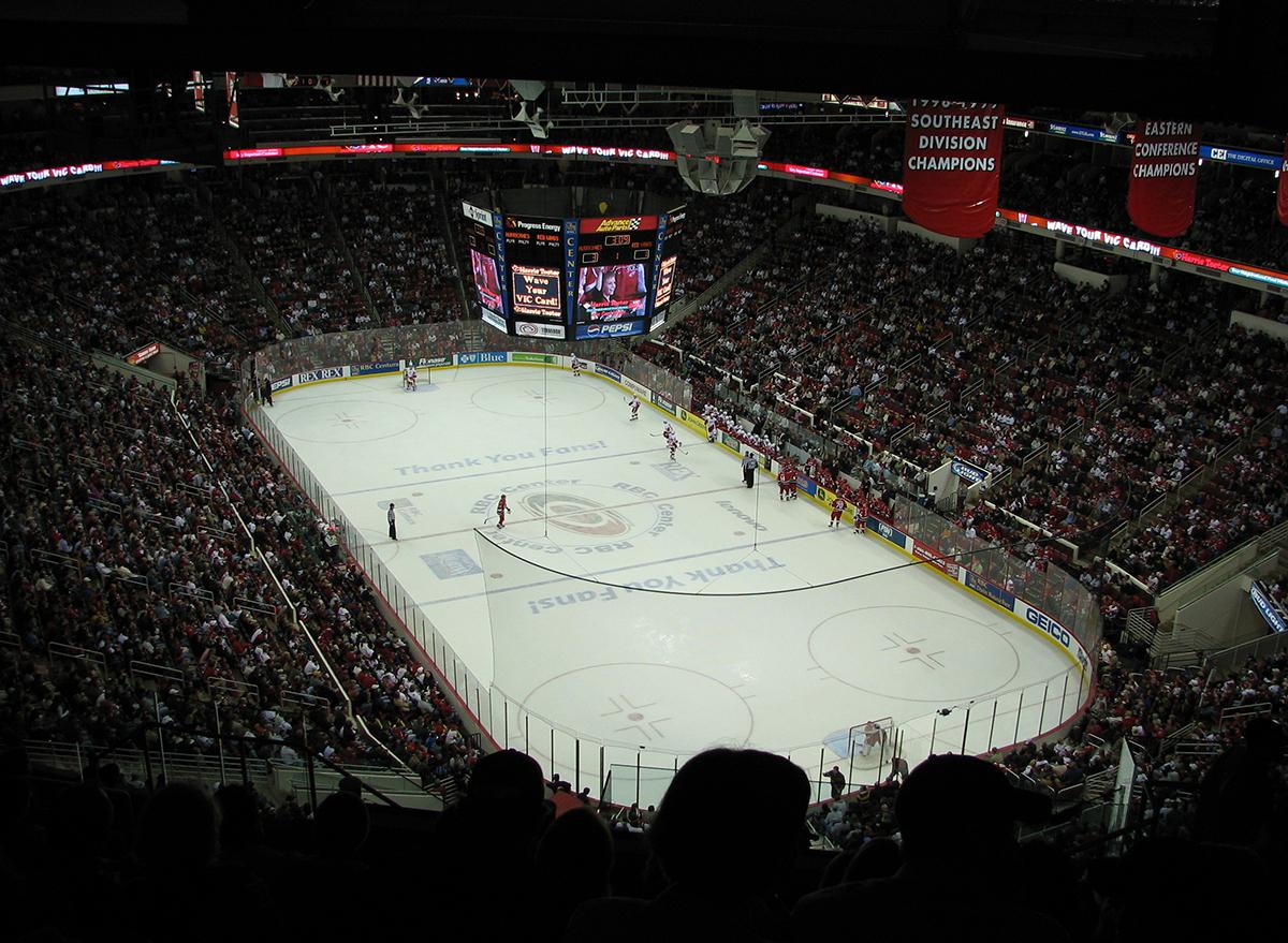 carolina hurricanes hockey stadium