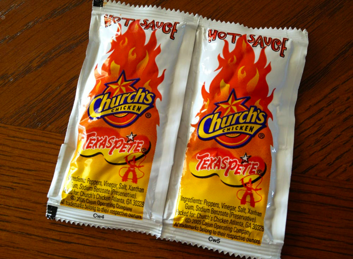 hot sauce with church chicken