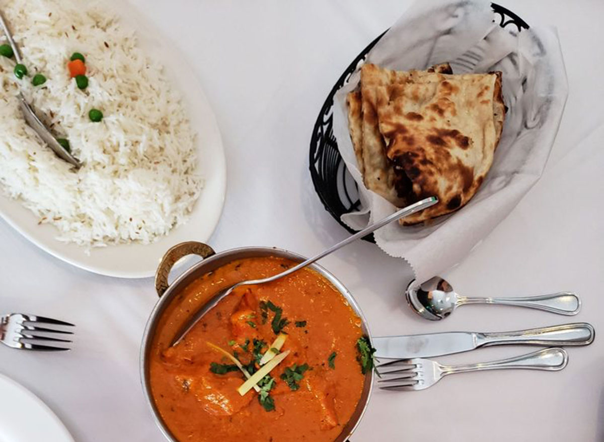 chutney indian restaurant maryland buffet