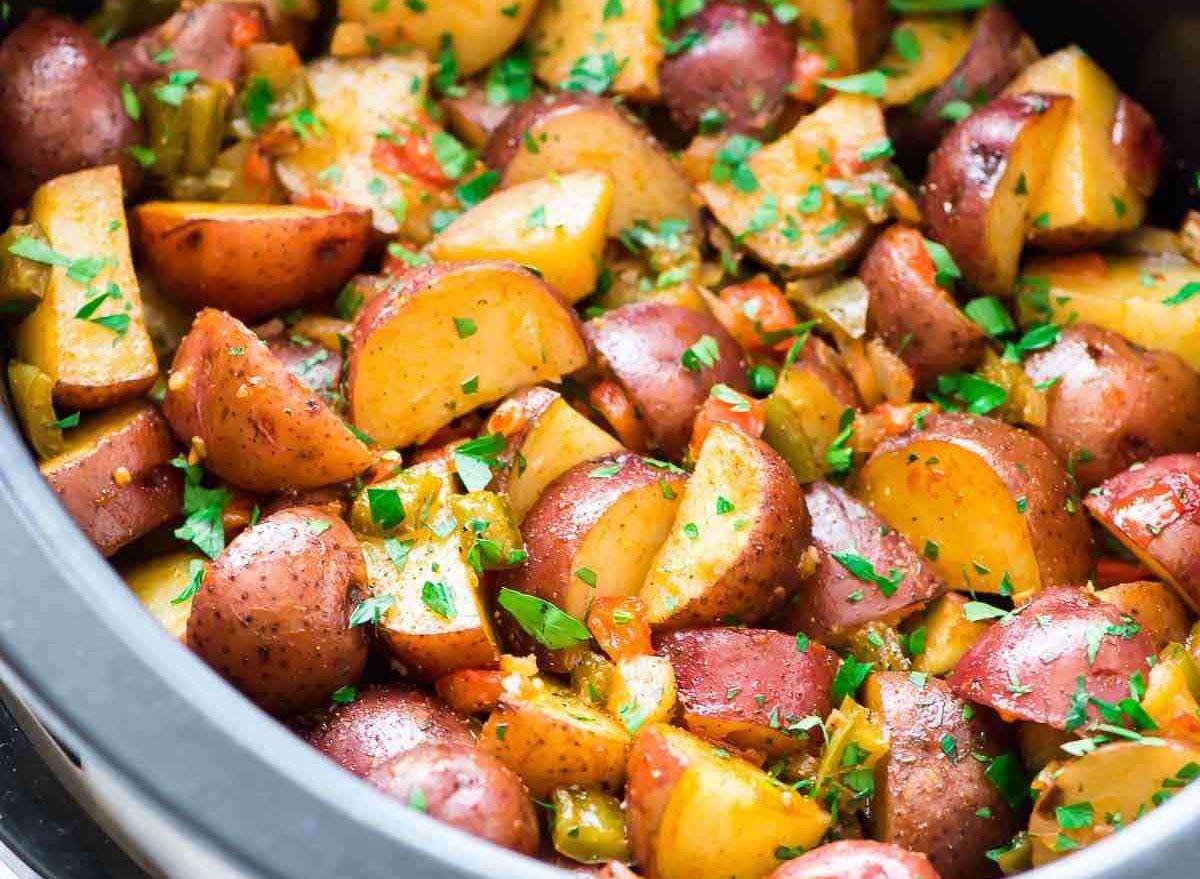 crockpot breakfast potatoes