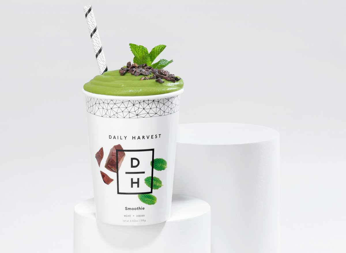 Daily harvest mint cacao smoothie