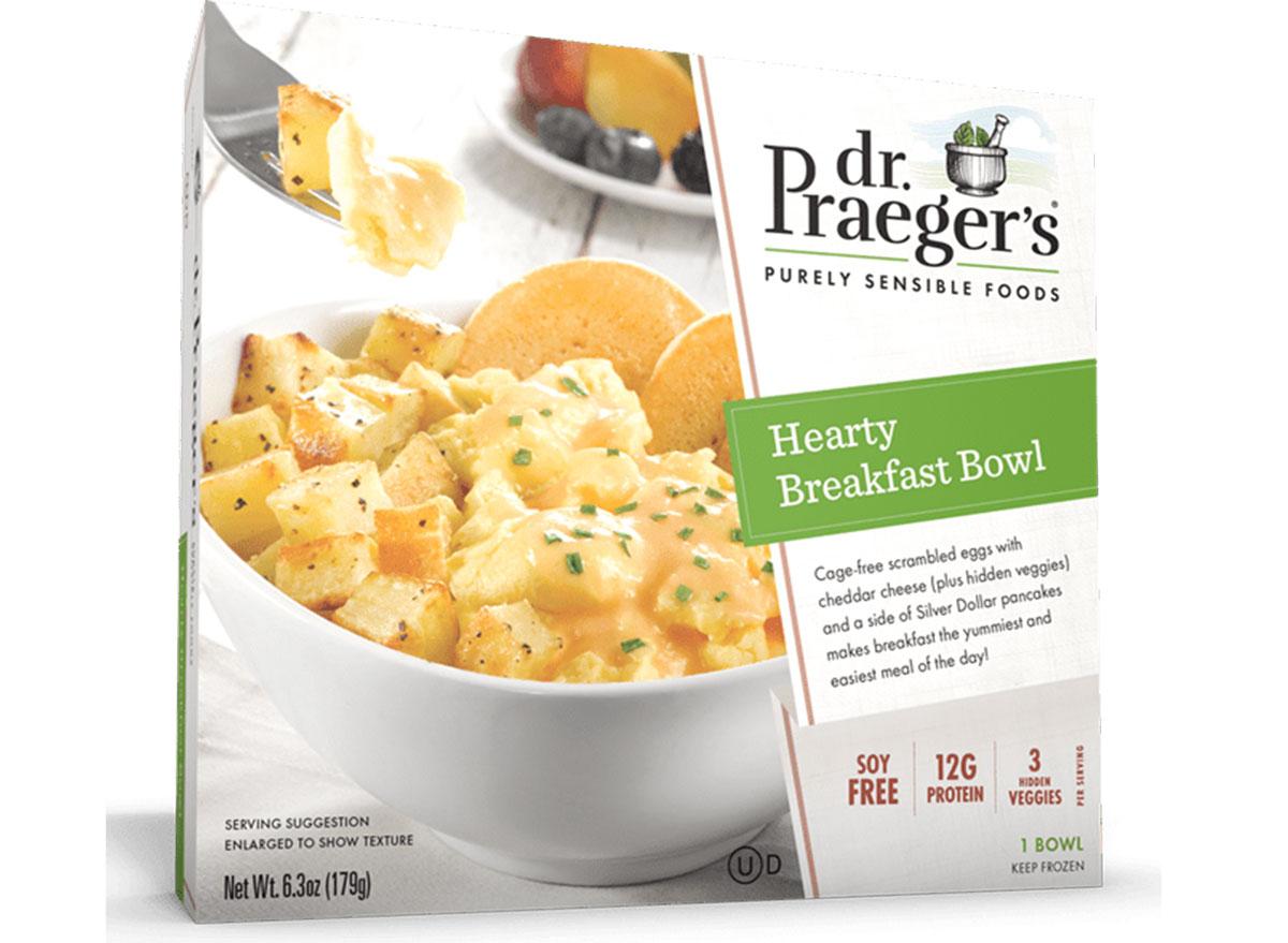 dr. praegers hearty breakfast bowl frozen meal