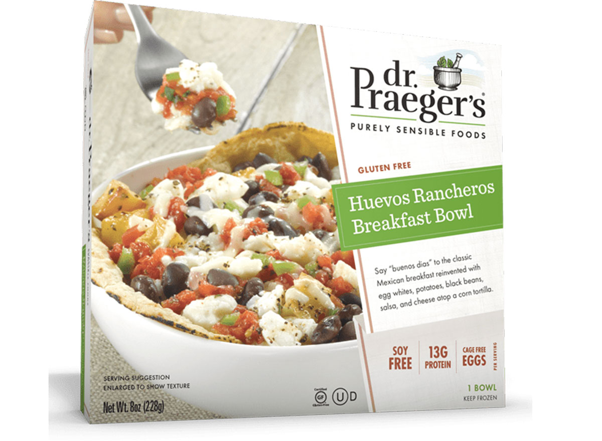 dr. praegers huevos rancheros breakfast bowl frozen meal