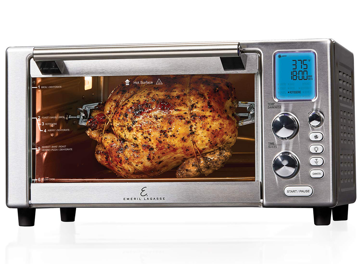 emeril lagasse air fryer with roasting chicken