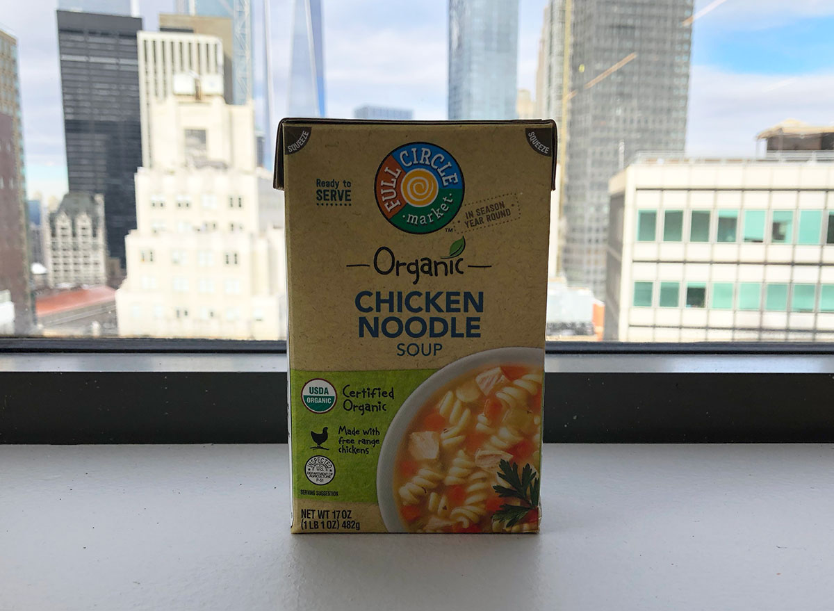 full circle market chicken noodle soup