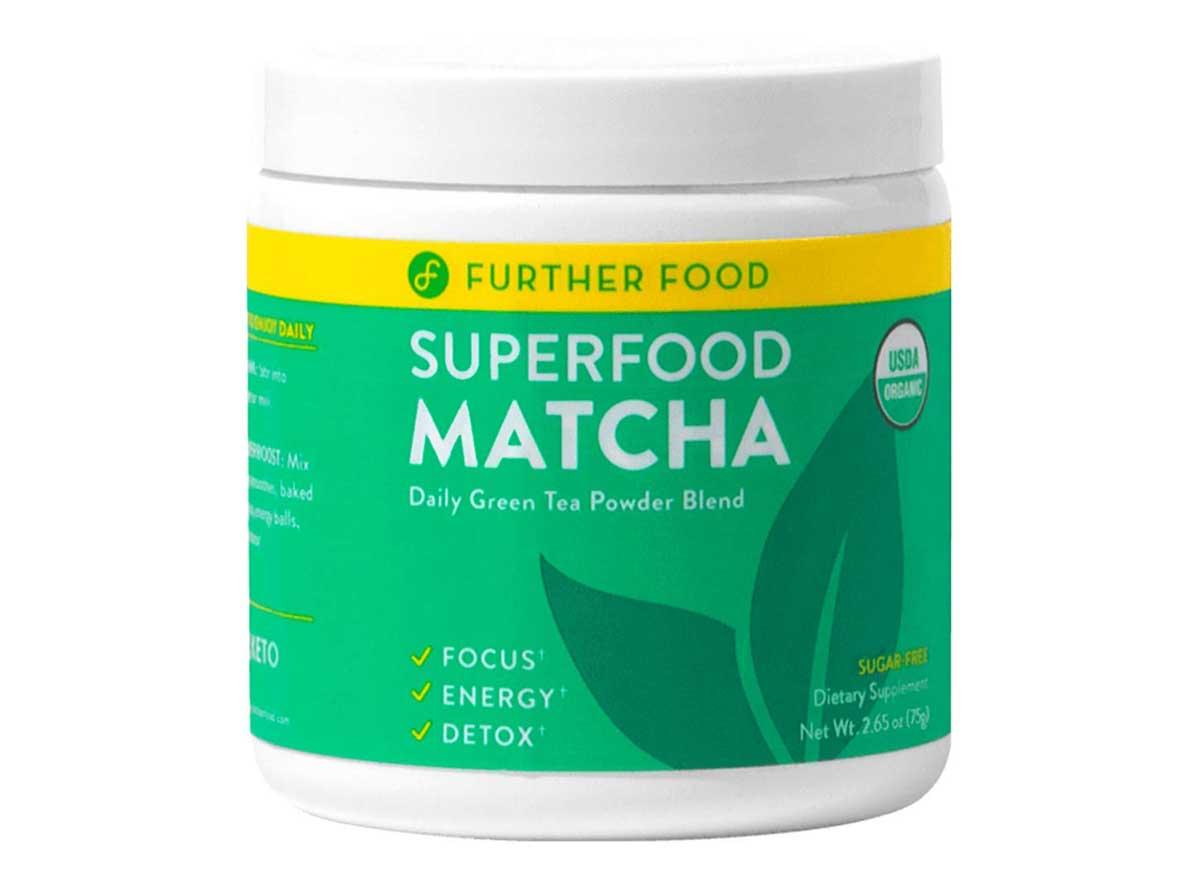 Further food superfood matcha