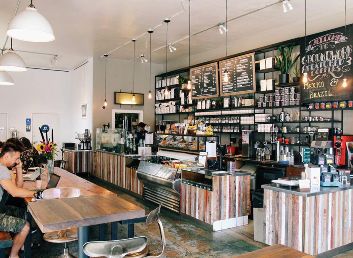 inside groundwork coffee shop in los angeles