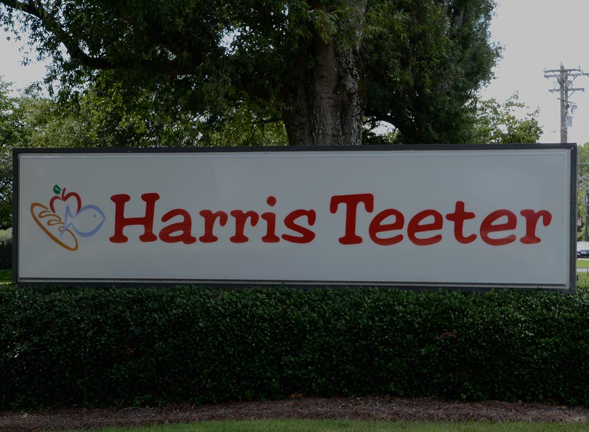 harris teeter sign outside