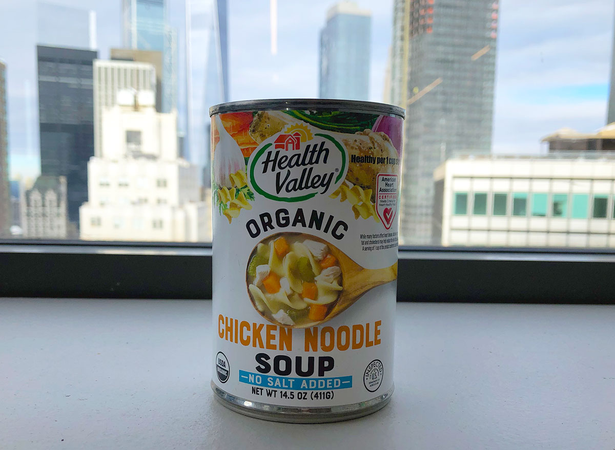 health valley chicken noodle soup