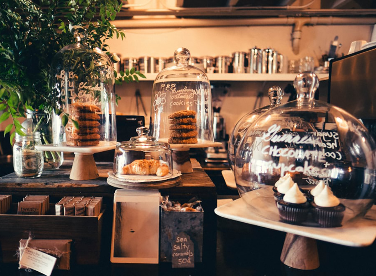 pastries at hollow cafe in san francisco