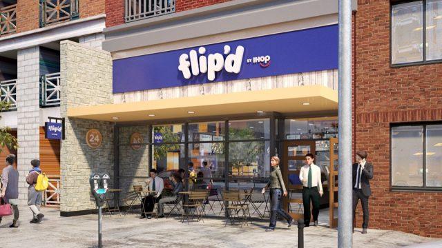 ihop flip'd storefront