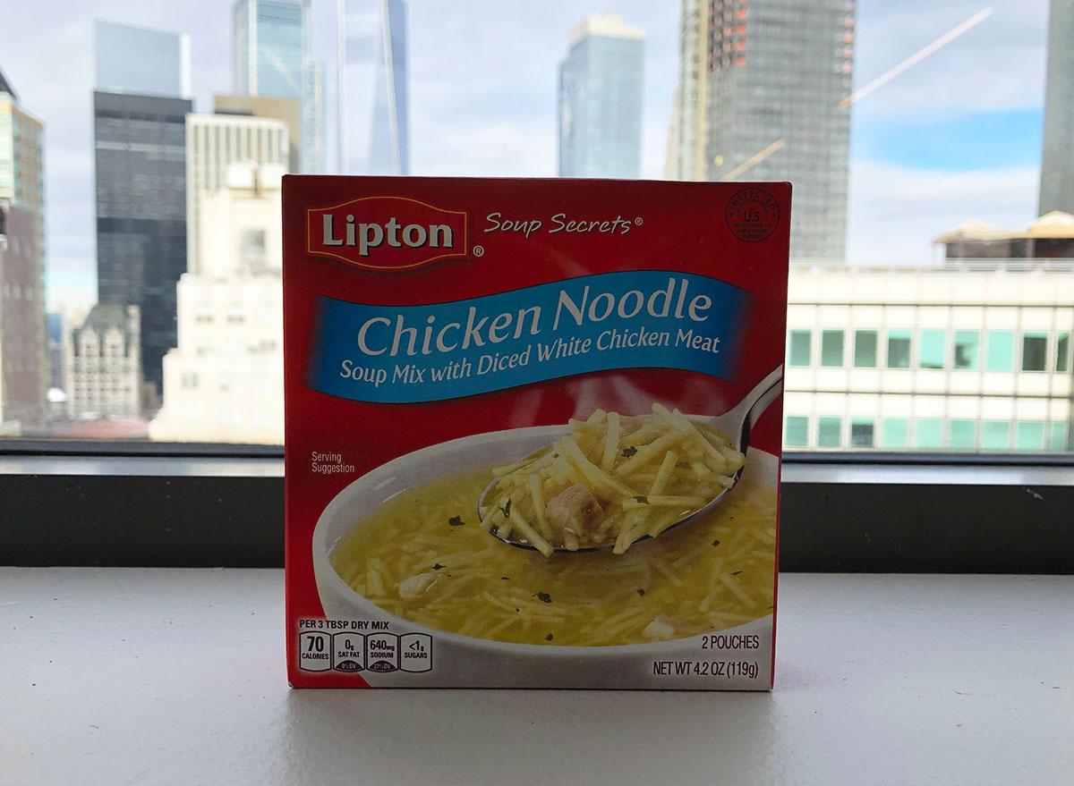 lipton chicken noodle soup