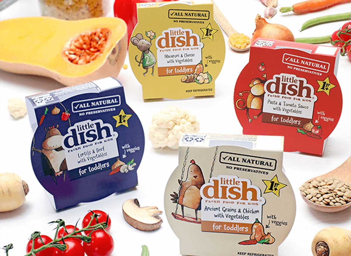 Little dish baby food for toddlers