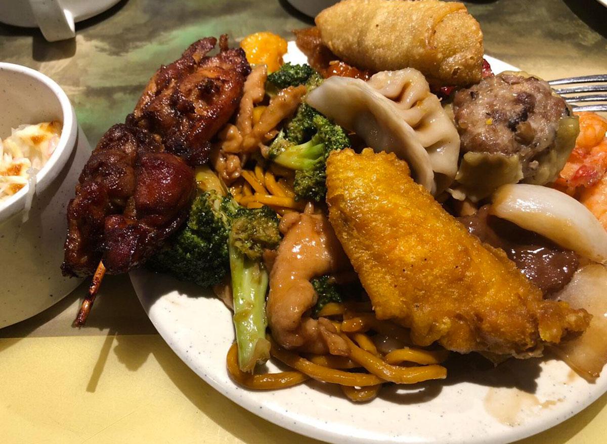lucky buffet vermont