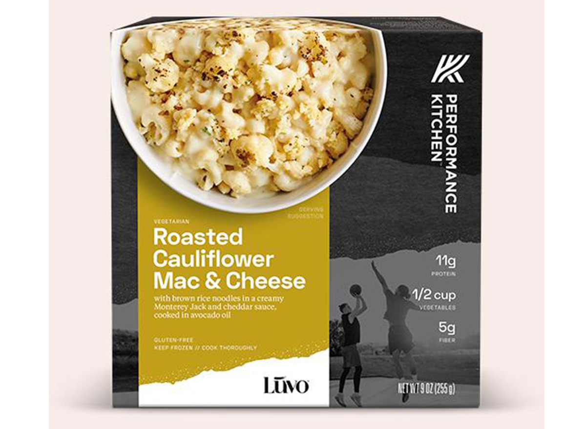 luvo cauliflower mac and cheese frozen meal