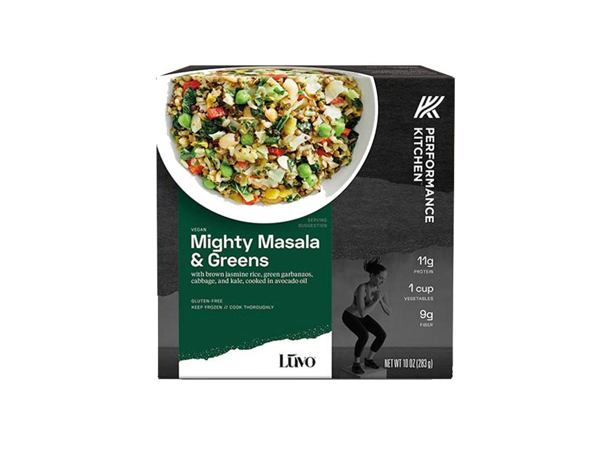 might masala and greens