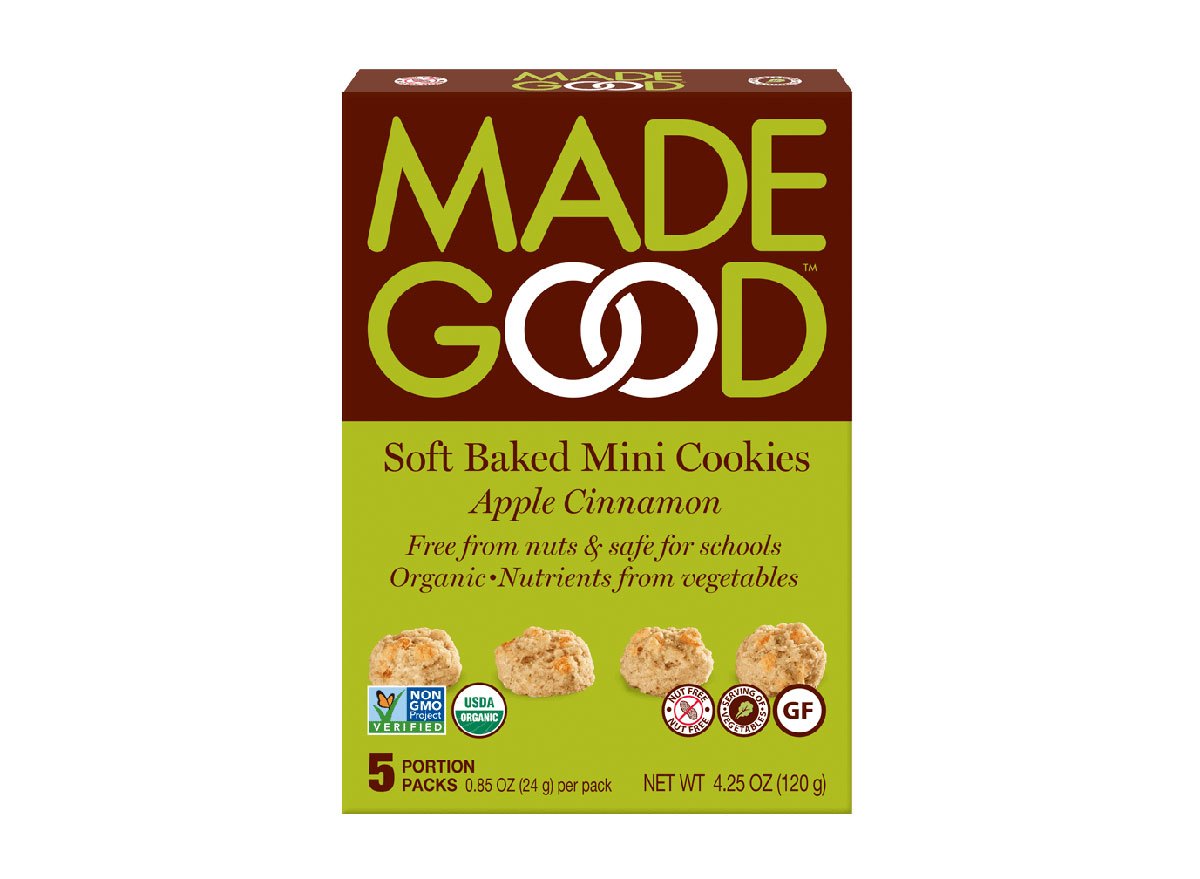 made good soft baked mini cookies