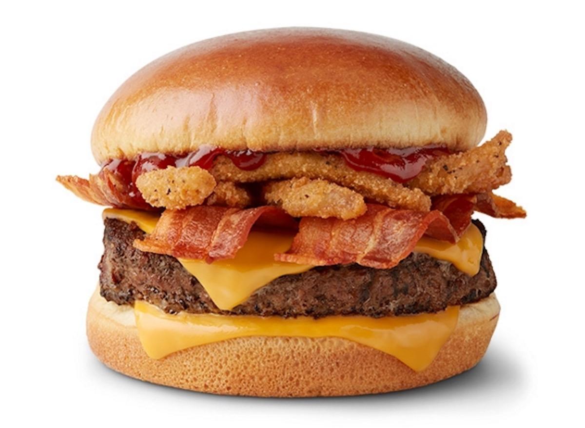 mcdonalds bacon bbq burger silo