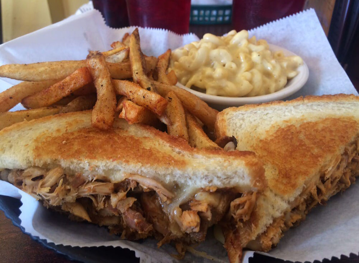 mommas mustard pickles bbq kentucky grilled cheese