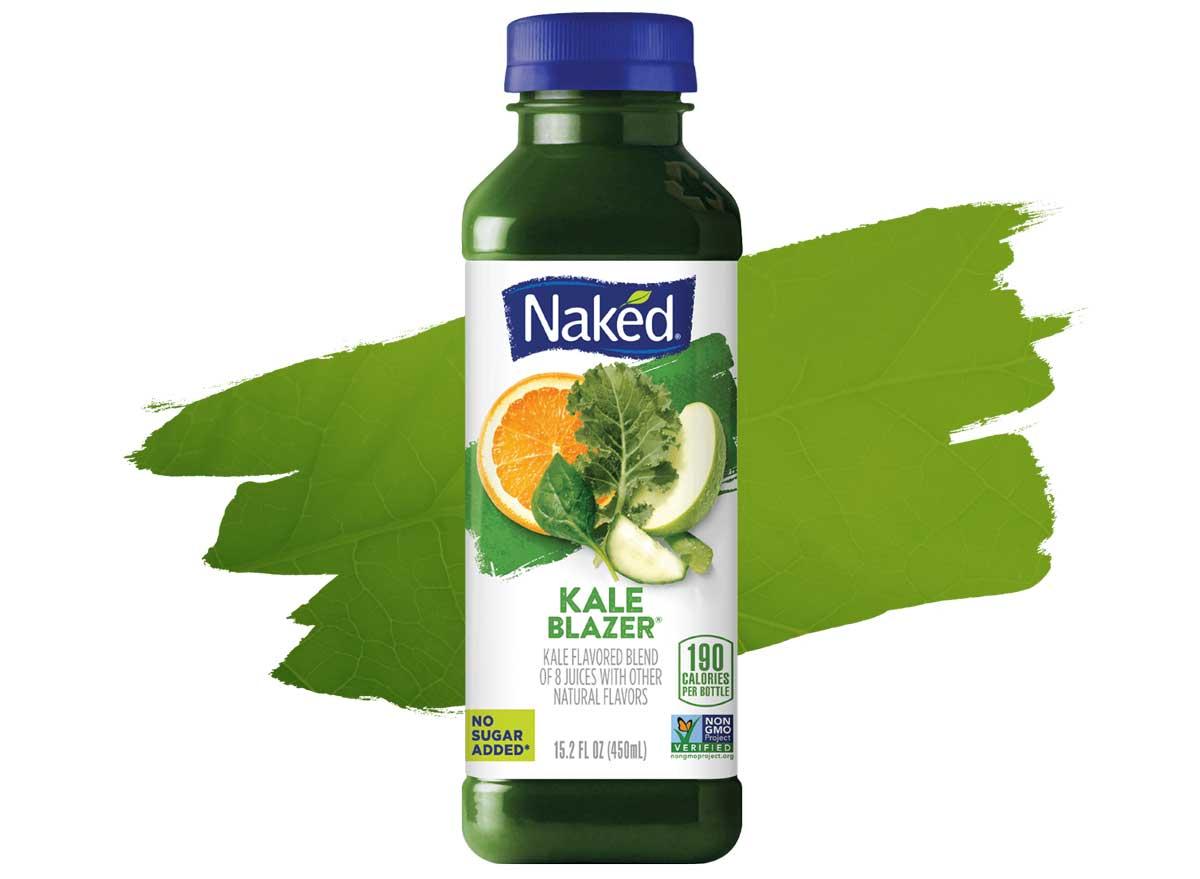 Naked Fruit and Veggie Smoothie Kale Blazer